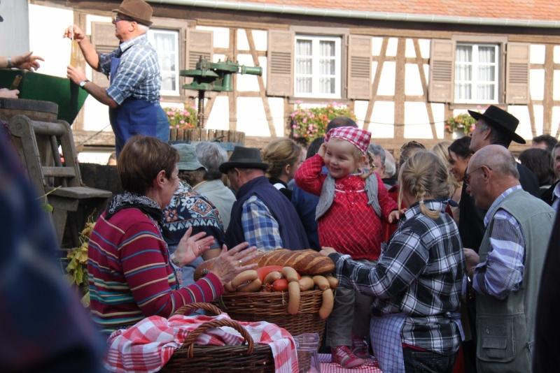 La Musique Harmonie de Wangen à la fête des vendanges de Marlenheim le 21 octobre 2012 Fate_d65