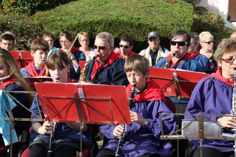 La Musique Harmonie de Wangen à la fête des vendanges de Marlenheim le 21 octobre 2012 Fate_d70