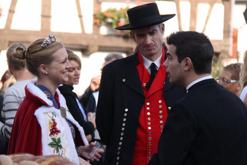 La Musique Harmonie de Wangen à la fête des vendanges de Marlenheim le 21 octobre 2012 Fate_d88