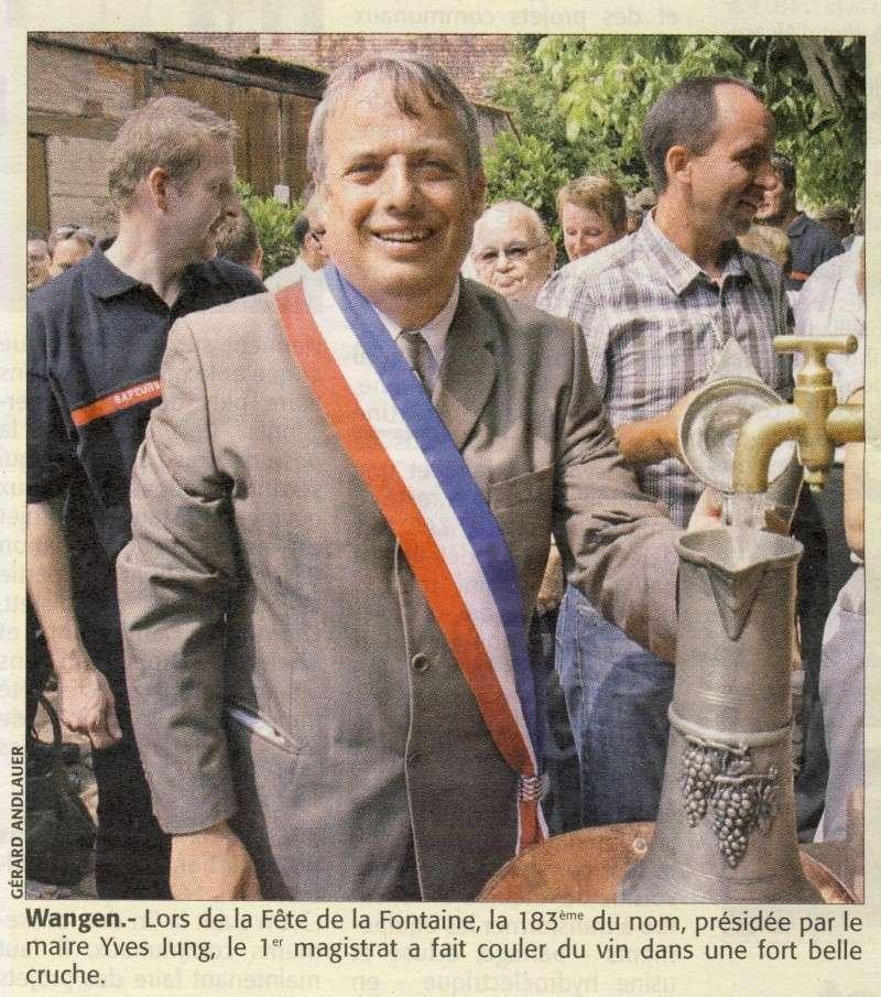 Wangen: Fête de la Fontaine 2010 ,183 ans d'histoire ...dans le respect de la tradition Image023
