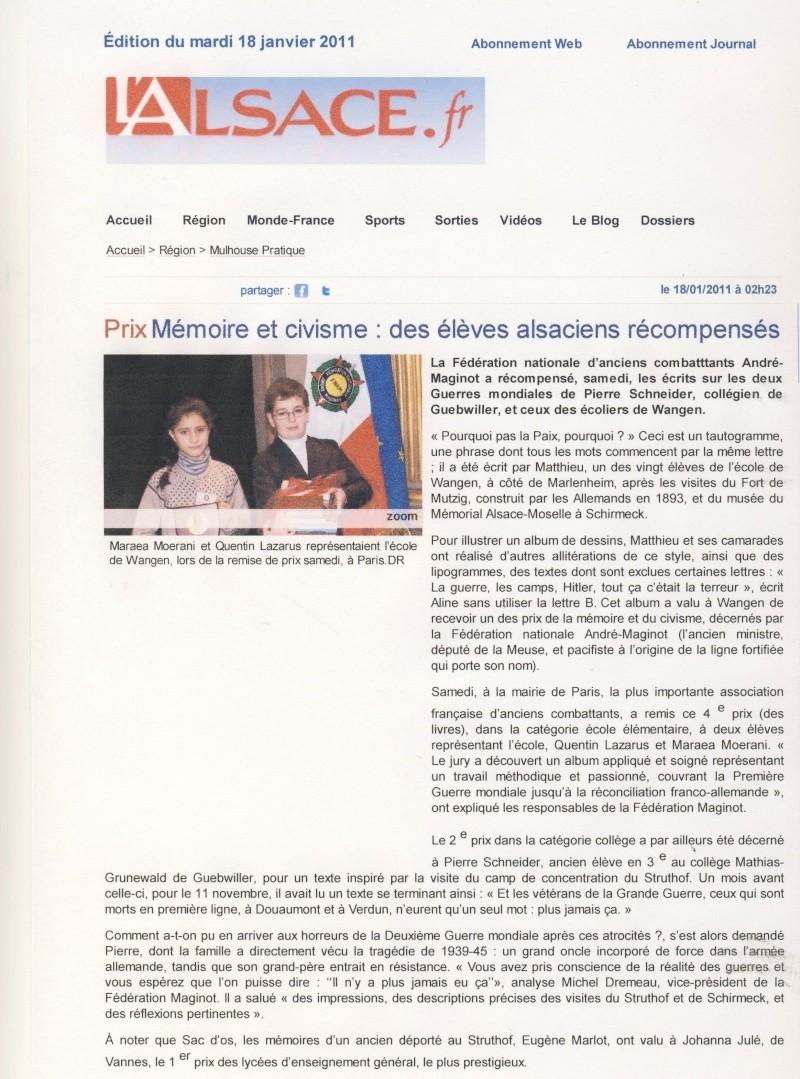 Prix National de la Mémoire et du Civisme  Image117