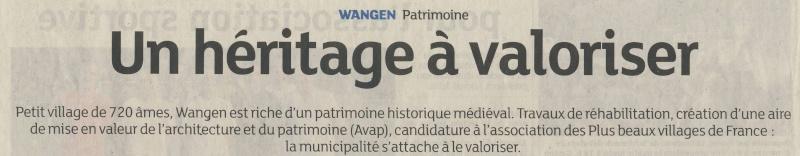 Wangen est-il l 'un des plus beaux villages de France? Image123