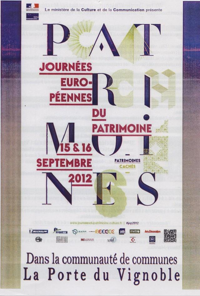 Journées Européennes du Patrimoine 15 et 16 septembre 2012 Image138
