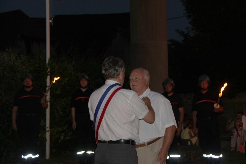 Wangen : Joseph Wehr décoré de la médaille des anciens combattants Img_8810