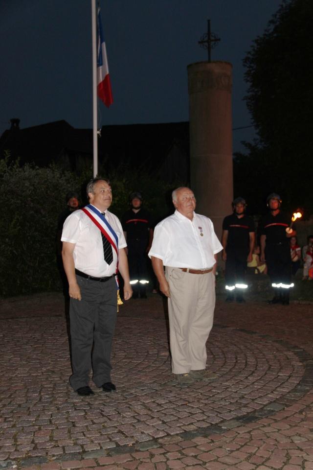 Wangen : Joseph Wehr décoré de la médaille des anciens combattants Img_8813