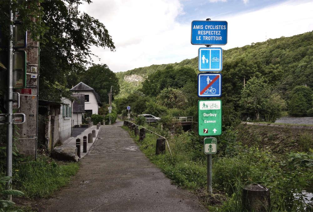 RAVeL 5 Ourthe Liege - Durbuy - Itinéraire N°7 - Sur la route des Ardennes - Page 5 _dsc1410