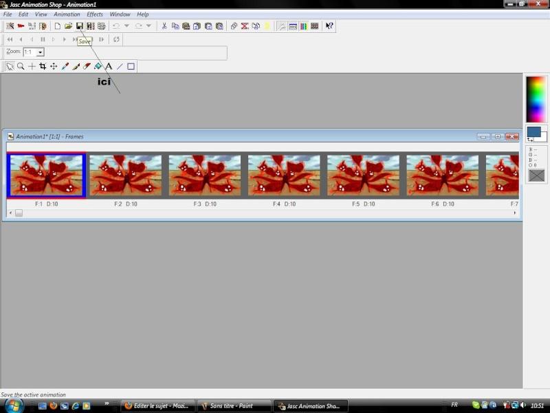 Créer un gif animé en forme d'avatar 7eme10