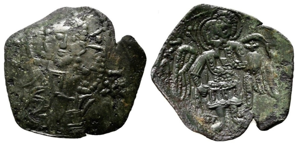Trachy del imperio latino de Constantinopla (SB 2036) Bizanc10