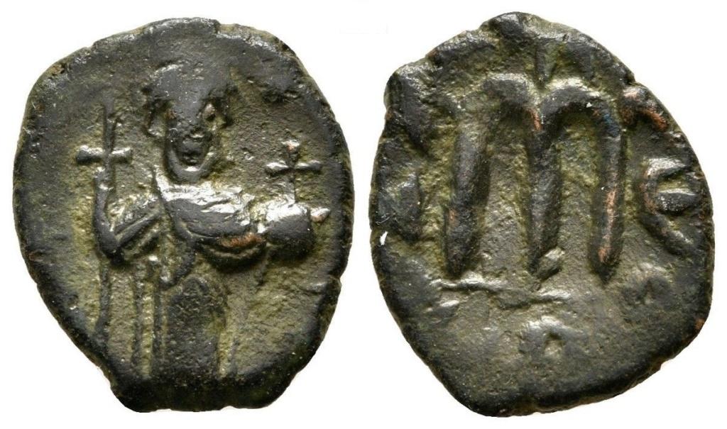 40 nummi de Constante II. Constantinopla Consta11