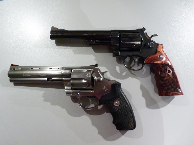 S&W 29-2 vs. Colt Anaconda P1010210