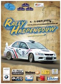 [rallyvanhaspengouw 4et5/10/2008] infos, engagés.... Haspen10