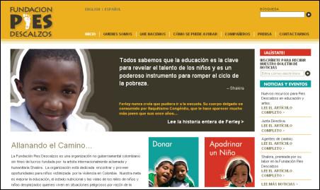 Novi dizajn za site Pies Descalzos 38010