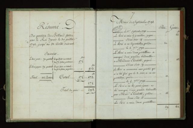 La vie de la famille royale aux Tuileries - Page 2 Regist10