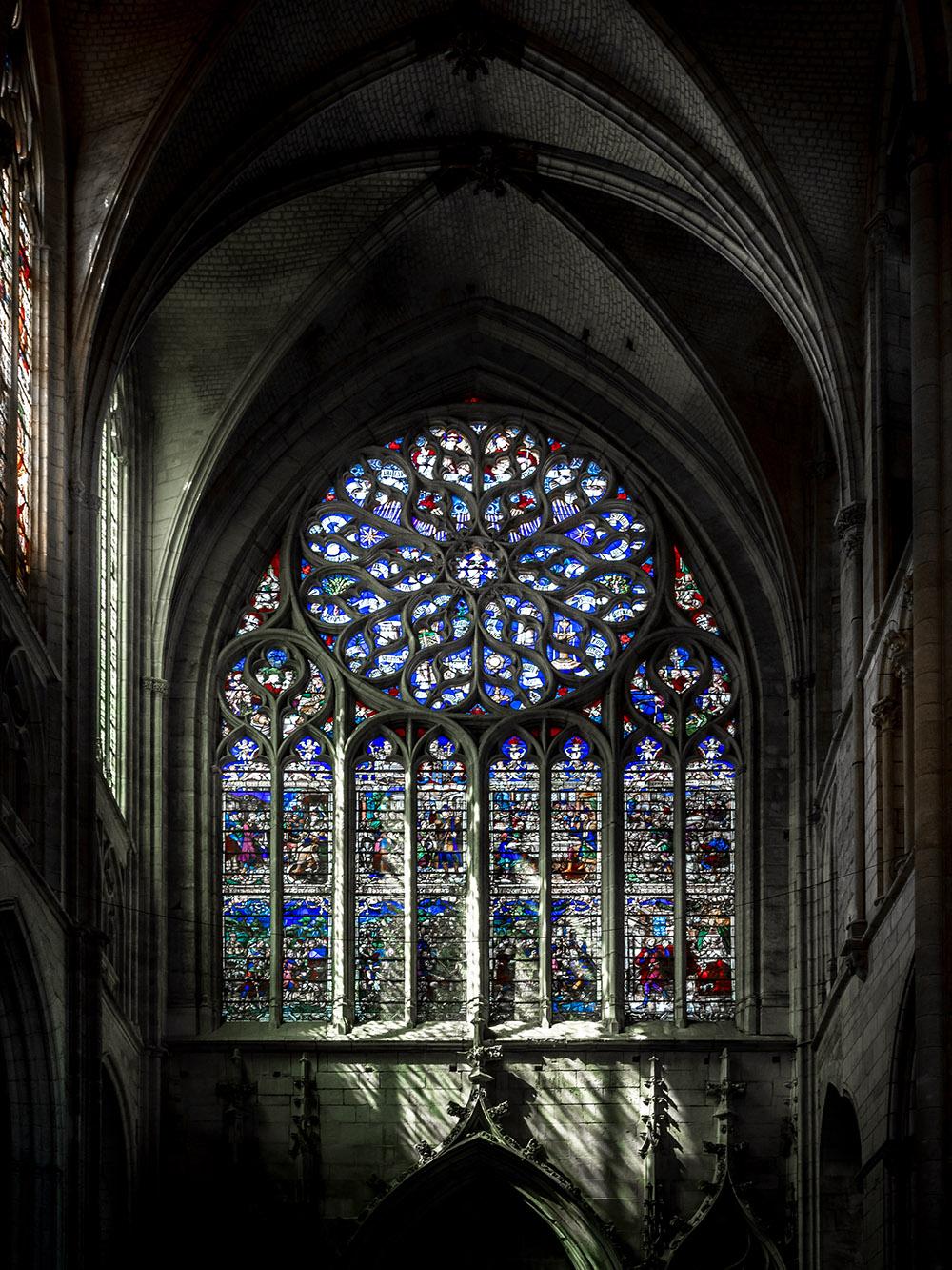 Cathédrale Saint Etienne d'Auxerre ... P7300512