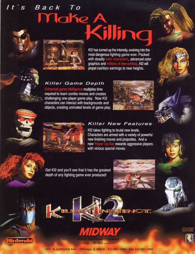 KILLER INSTINCT 2 ARCADE ROM 62168411