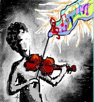 El Dibu de la Chimenea - Arte Demente - Página 3 Violin11