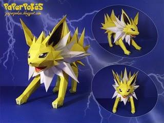 Spécialiste papercraft pokemon XD Jolteo10