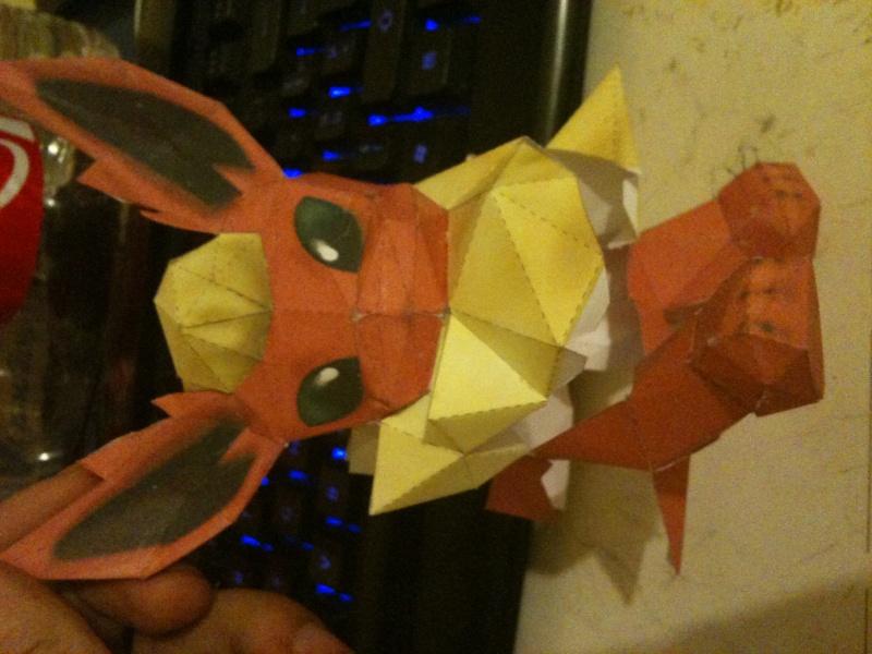 Spécialiste papercraft pokemon XD Photo10
