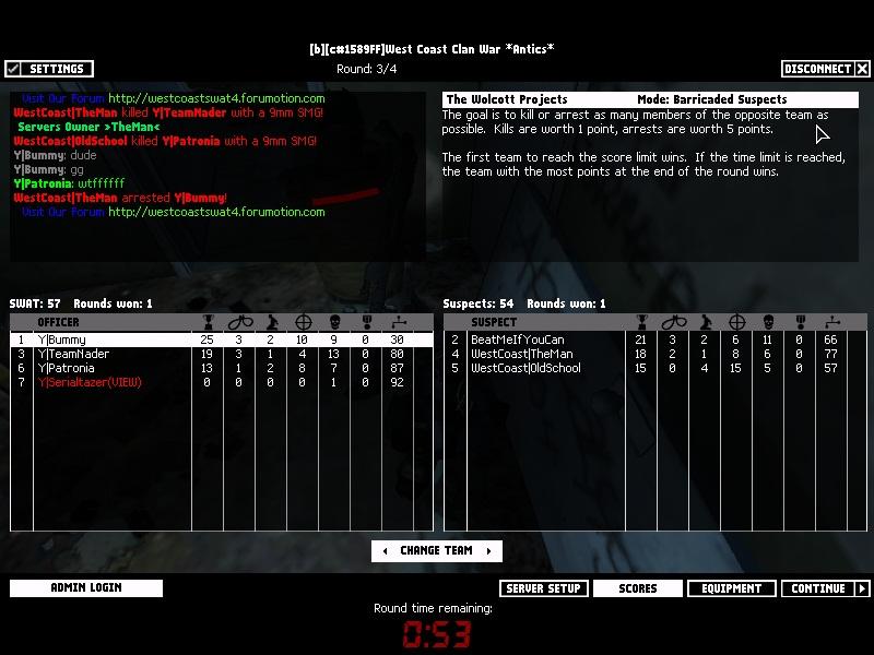 YkZ vs WcC 08.01.2011 LOSEEEE Swat4-37