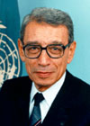 Biographie des Secrétaires Généraux de l'Organisation des Nations Unis (ONU) Boutro10