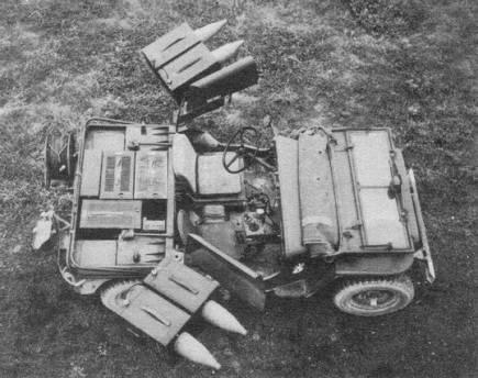ENTAC le missile anti-char Français de 1958 à 1974, en Français et en Anglais. Jeep_e10