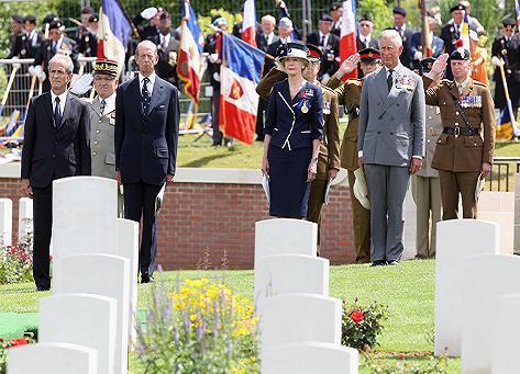 Inauguration du cimetière du Commonwealth à Fromelles Lille_10