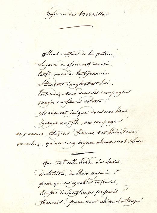 Histoire de la Marseillaise Manusc10