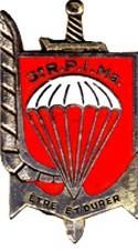 Les NOMS des Chefs de Corps du 3ème RPIMa de CARCASSONNE dans le département de l'AUDE n° 11,et l'Historique du Régiment . Pc220210