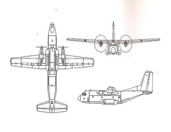 L'avion militaire C-160 TRANSALL Plan_d12