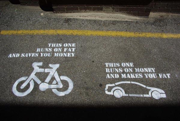 Bicycle vs. Car Bikela10