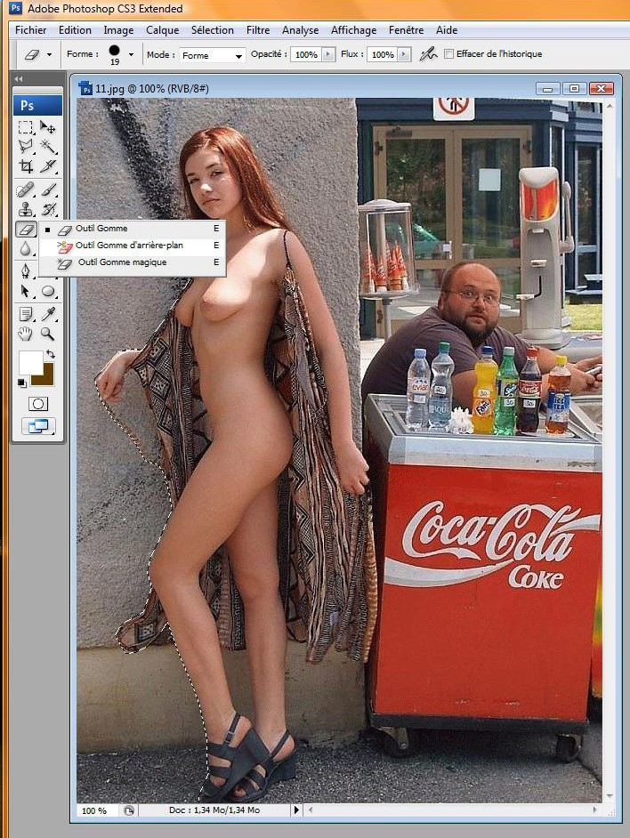 "Tuto ""transparence sous photoshop"" Toshop17"