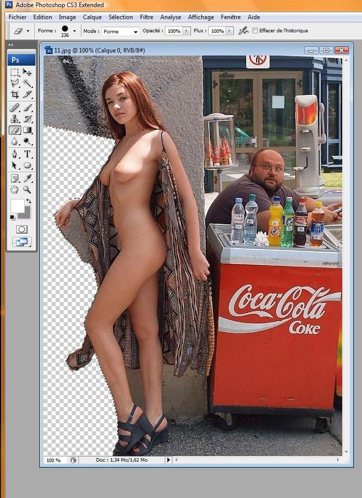 "Tuto ""transparence sous photoshop"" Toshop18"