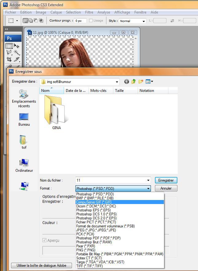 "Tuto ""transparence sous photoshop"" Toshop24"