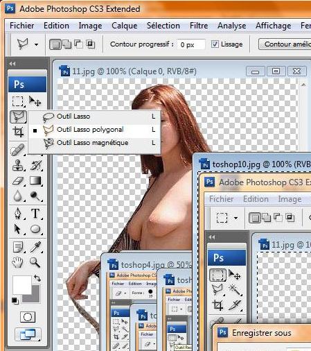 "Tuto ""transparence sous photoshop"" Toshop25"