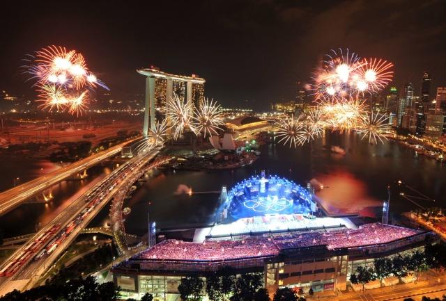 Cérémonie d'Ouverture des 1ers Jeux Olympiques de la Jeunesse, Singapour 2010 17180211