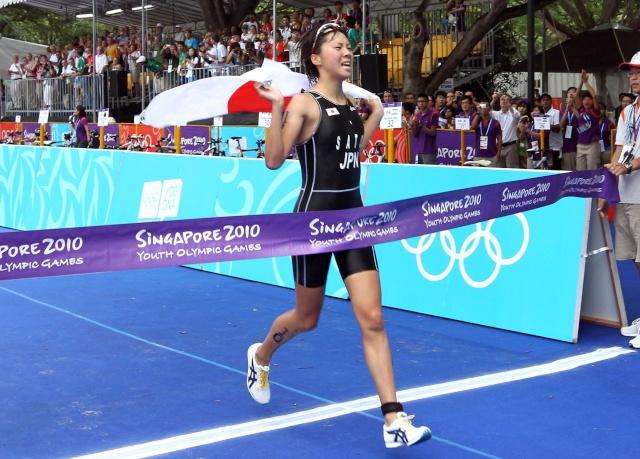 TRIATHLON - Jeux Olympiques de la Jeunesse, Singapour 2010 17187310