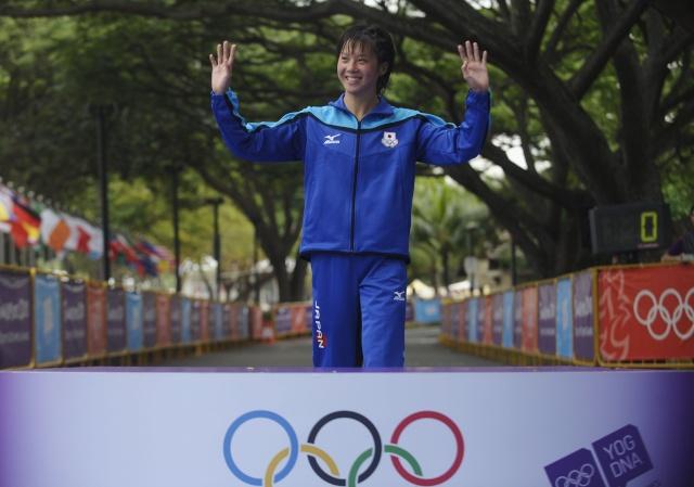 TRIATHLON - Jeux Olympiques de la Jeunesse, Singapour 2010 17188110