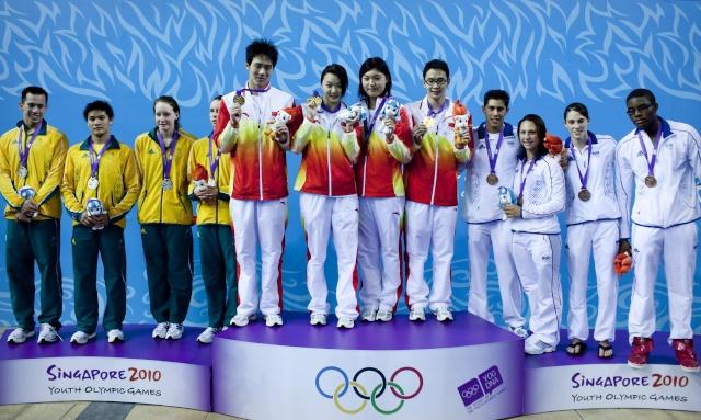 NATATION - Jeux Olympiques de la Jeunesse, Singapour 2010 17193210