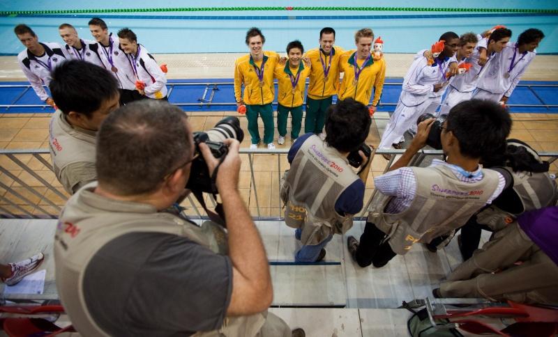 Jeux Olympiques de la Jeunesse - Singapour 2010 - Médaille d'argent en Natation (5eme médaille) 17226410