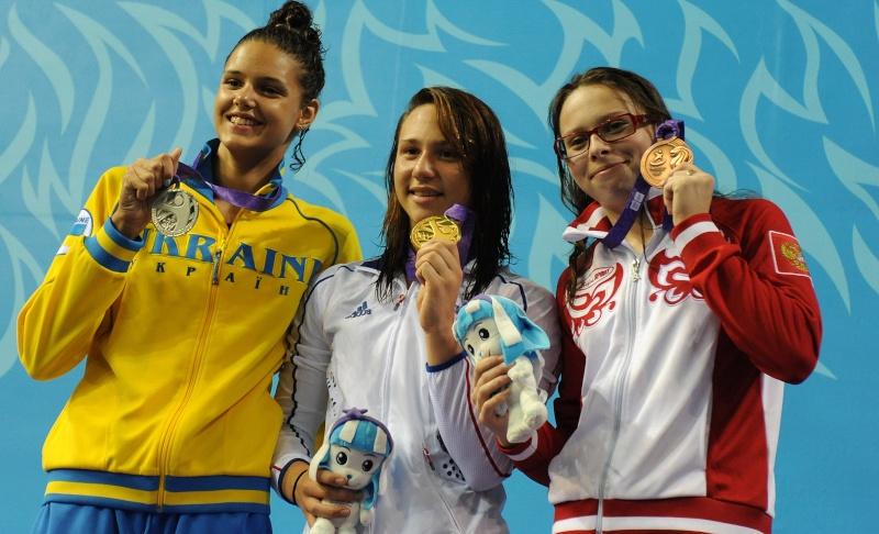 Jeux Olympiques de la Jeunesse - Singapour 2010 - MEDAILLE d'OR en Natation (7eme médaille) 17237610
