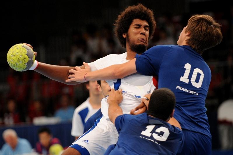 Jeux Olympiques de la Jeunesse - Singapour 2010 - MEDAILLE de BRONZE en Handball (14eme médaille) 17299610