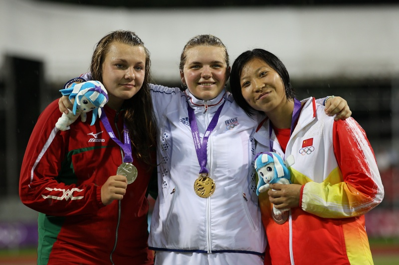 Jeux Olympiques de la Jeunesse - Singapour 2010 - Nouvelle médaille d'or en Athlétisme (13eme médaille) 1mym4310