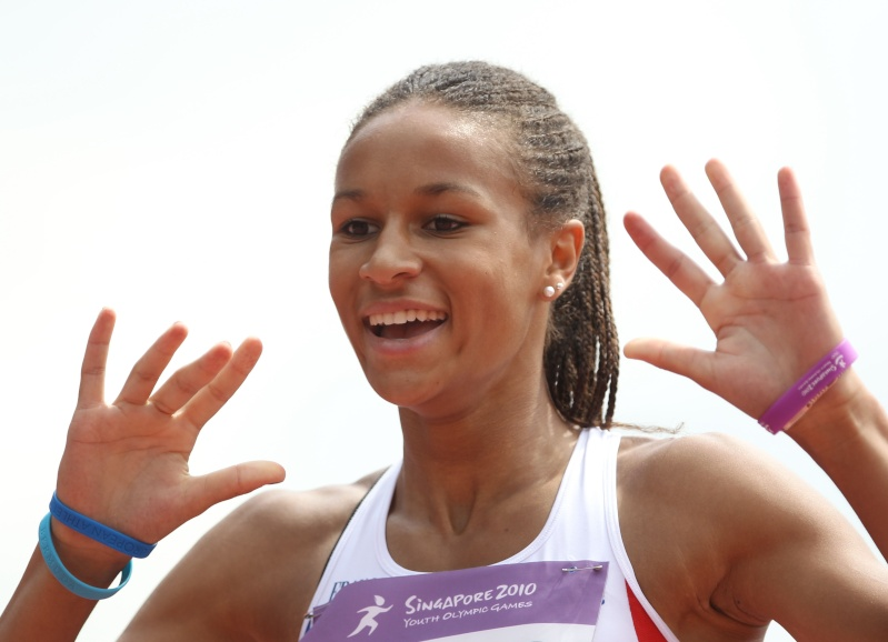 Jeux Olympiques de la Jeunesse - Singapour 2010 - 2 médailles d'or et d'argent en Athlétisme (10&11emes) 2mym4110