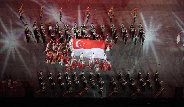 Cérémonie d'Ouverture des 1ers Jeux Olympiques de la Jeunesse, Singapour 2010 3g5w0010