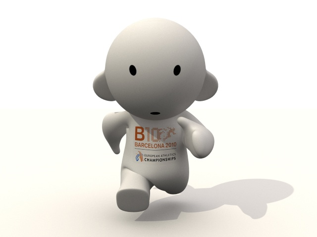 Barni !!! La mascotte des Championnats d'Europe d'Athlétisme outdoor 2010 Corren10