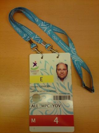 """www.afcos.org et le magazine AFCOS """"Esprit, Sport & Olympisme"""" média accrédité à Singapour 2010 Dsc02115"""