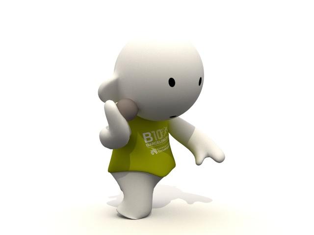 Barni !!! La mascotte des Championnats d'Europe d'Athlétisme outdoor 2010 Llanca10