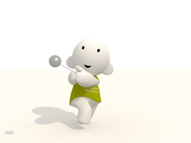 Barni !!! La mascotte des Championnats d'Europe d'Athlétisme outdoor 2010 Martel10