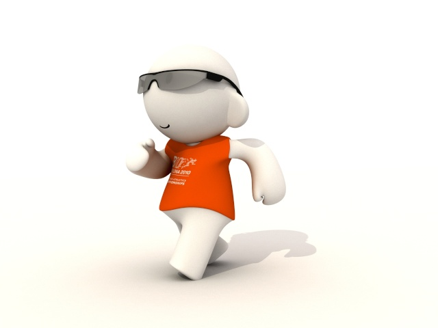Barni !!! La mascotte des Championnats d'Europe d'Athlétisme outdoor 2010 Marxa10