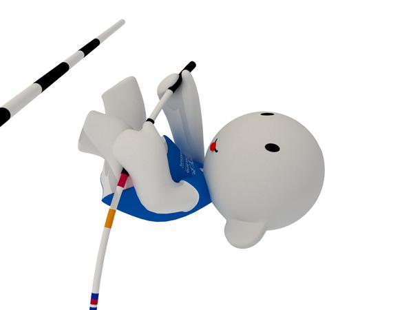 Barni !!! La mascotte des Championnats d'Europe d'Athlétisme outdoor 2010 Posici10